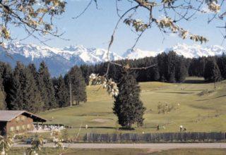 Historic photo of Sonnenalp Club golf course