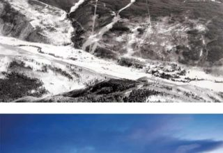 historic Vail slopes photos