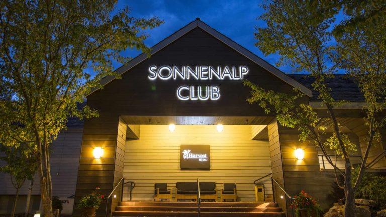 Entrance to Sonnenalp Club