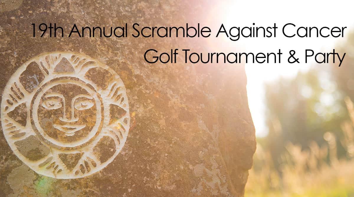 19th annual scramble against cancer golf tournament