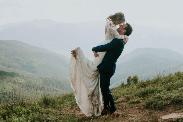 Stylish Vail, Colorado Wedding